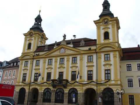 City Hall Bells in Pisek, Czech Republic
