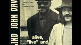 Blind John Davis - I Almost Lost My Mind