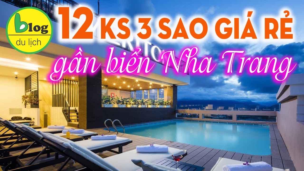 12 khách sạn 3 sao Nha Trang giá rẻ gần biển trần Phú