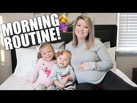 PREGNANT MOMMY MORNING ROUTINE | STAY AT HOME MOM