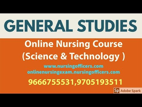 Online Nursing Coaching (Science & Technology) || Staffnurse Paper-I