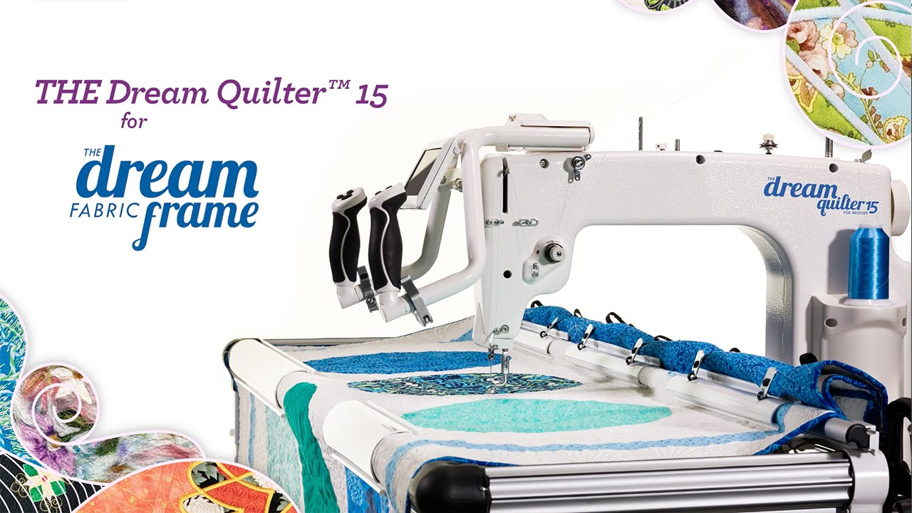 BrotherB2B2016 THE Dream Quilter 15 - YouTube