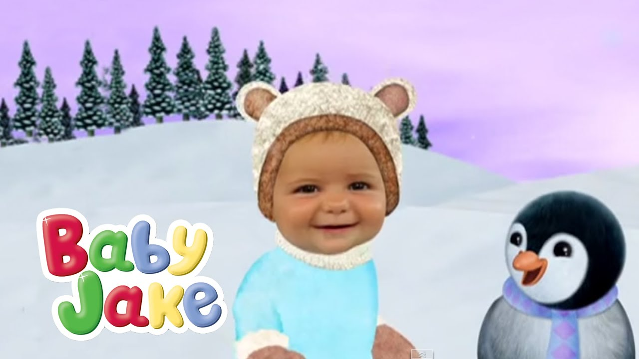 Baby Jake Plays Ball With Pengy Quin - YouTube