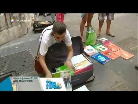 polémica-en-la-calle-libreros-por-la-venta-de-libros-de-segunda-mano