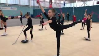 Учебно тренировочные сборы по художественной гимнастике Екатерины Пирожковой в Лондоне