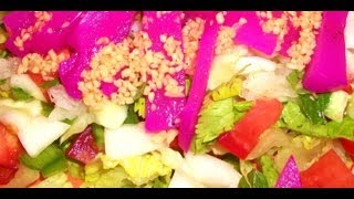 How To Make Gluten Free Fattoush Salad And Dressing