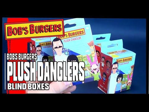 GENE-NEW! BOBS BURGERS PLUSH DANGLERS BOX