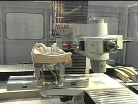 BACCI -  8-AXES CNC MACHINE MODEL AVANT 4 -TRC + TRH +  AUTOTOOL CHANGER