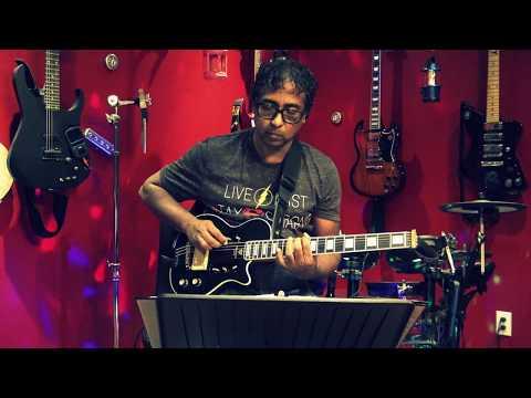 Porkalam Ange- Live Selfie Guitar Instrumental by Kumaran
