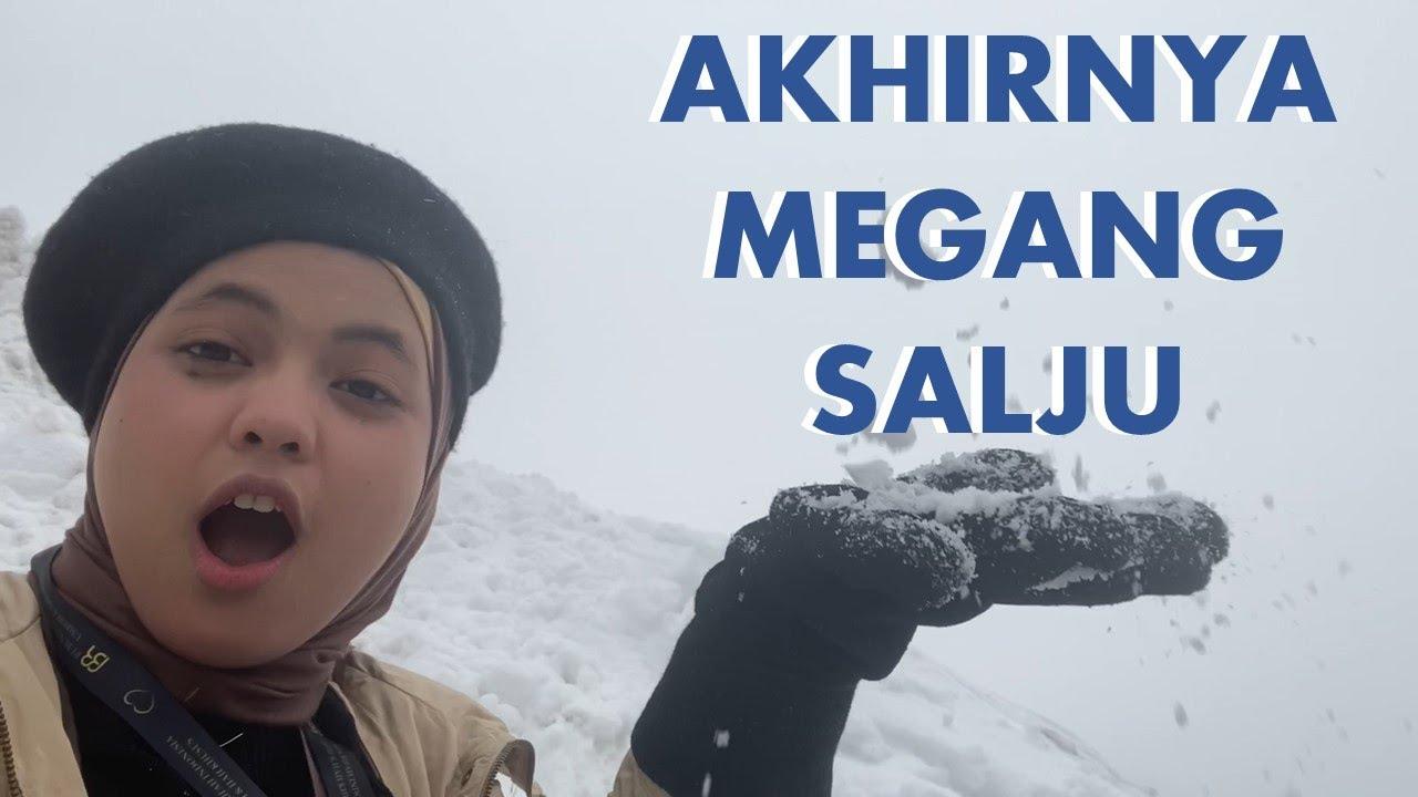 AKHIRNYA MEGANG SALJU!! | Putri Isnari