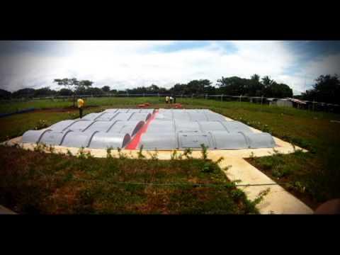 Planta de tratamiento de aguas servidas de Guarare-Panama.avi