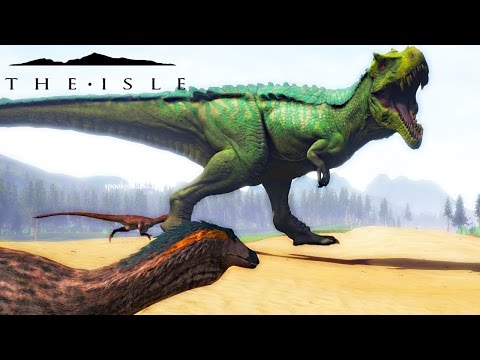 The Isle - MASSIVE RAPTOR PACK VS HYPERENDOCRINE REX, SOUNDS & PROGRESSION ( Early Access Gameplay )