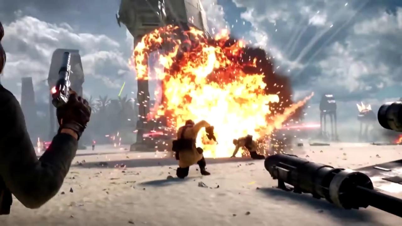 STAR WARS Battlefront Trailer Rogue One
