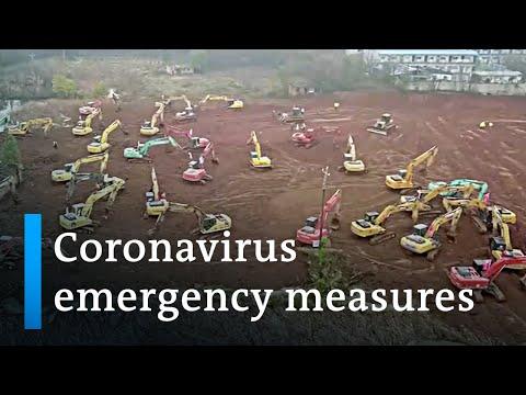 China coronavirus spreads