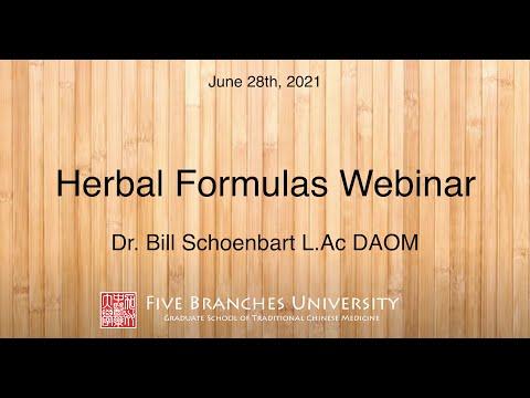 Spotlight: Webinar on Herbal Formulas