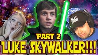 The Mandalorian Season 2 Episode 8 | Luke Skywalker Reaction Compilation Part 2