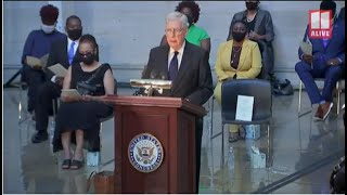 John Lewis honored in US Capitol Rotunda by Senator Mitch McConnell