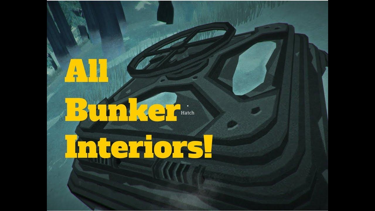 The Long Dark All Hidden Bunkers  YouTube