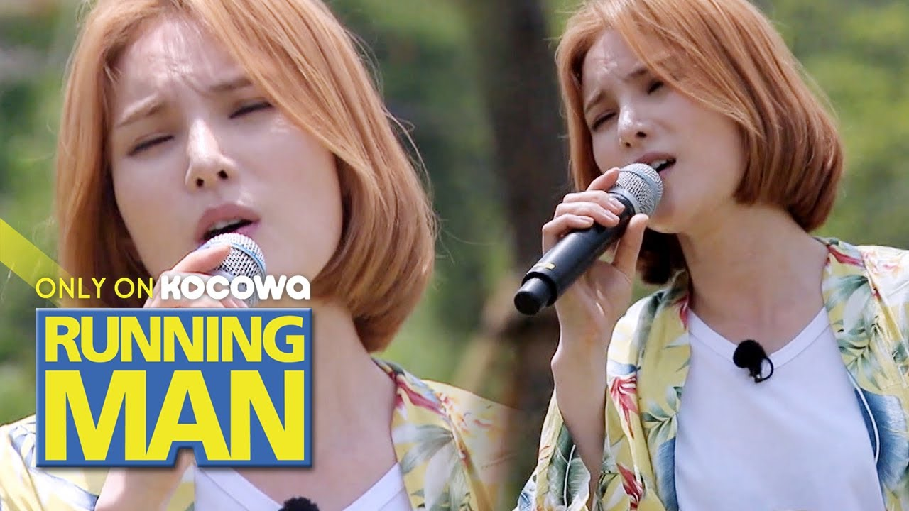 "Gummy Shows off Her Charms Before the Collaboration! ""You Are My Everything"" [Running Man Ep 458]"