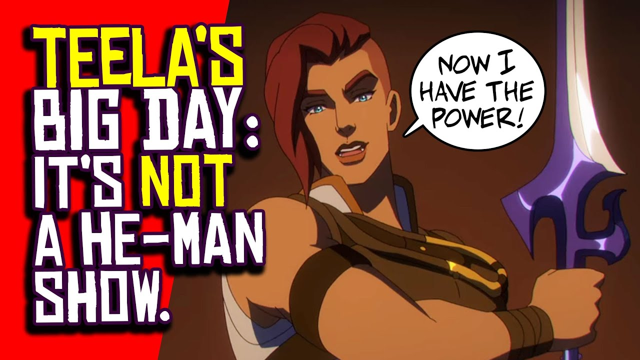 Show, Don't Mattel: 'Masters Of The Universe: Revelation' Is Toying ...