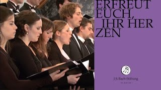 J.S. Bach - Cantata BWV 66 - Erfreut euch, ihr Herzen (J. S. Bach Foundation)
