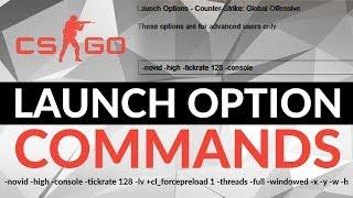 CS:GO launch option тохиргоо болон коммандууд
