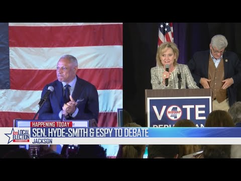Sen. Cindy Hyde-Smith and Mike Espy to debate tonight