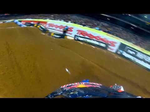 GoPro HD: James Stewart Main Event 2012 Monster Energy Supercross St. Louis