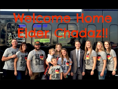 Welcome Home Elder Chadaz!!