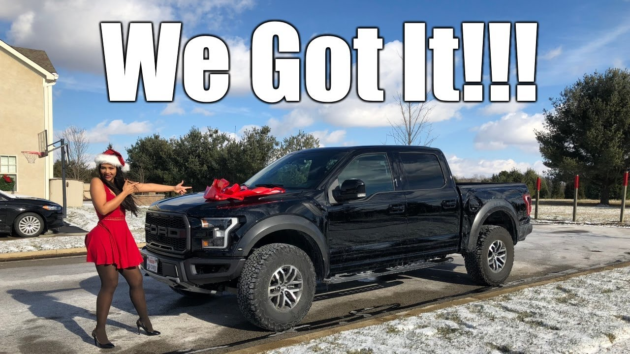 christmas    channel   ford raptor reveal video   christmas gift