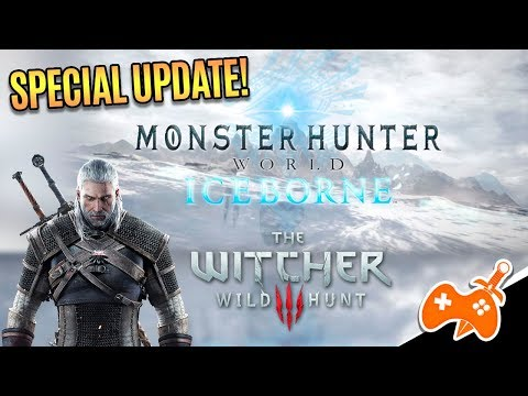 MONSTER HUNTER: WORLD Special UPDATE |  Crossover com The Witcher, MHW Iceborne e novos Archs! thumbnail