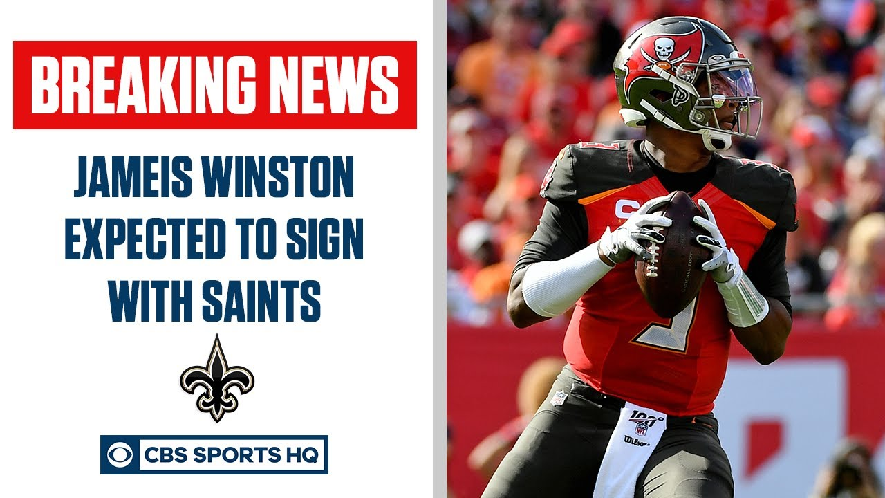 Jameis Winston, Saints finalizing one-year deal, report says