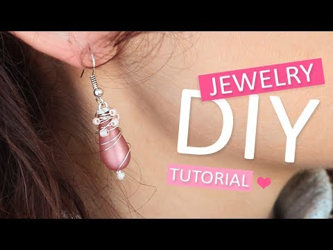 DIY Tutorial: Artistic wire Oorbellen – Zelf sieraden maken