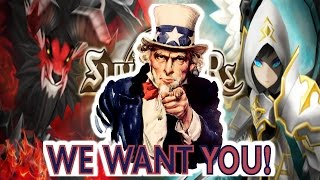 F2PG Summoners War - Are you ready for the big league? The F2P Main Guild wants YOU!