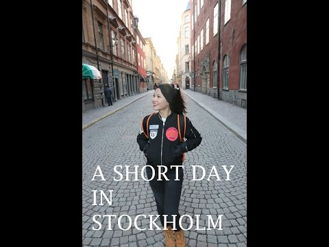 A SHORT DAY IN STOCKHOLM