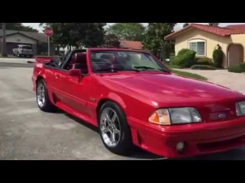 1989 Foxbody Mustang Convertible You