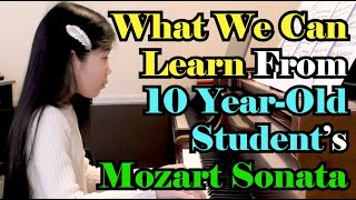 What We Can Learn from 10 Year Old: Akira's Commentary on the Student Performance