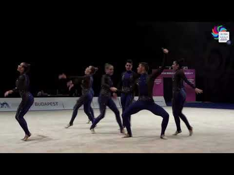 Ritmica Cartagena ESP Mixed Final - AGG World Championships 2018 Budapest