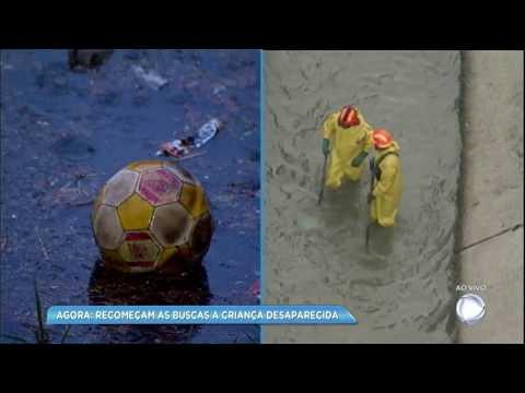 Criança desaparece em córrego na zona leste de São Paulo