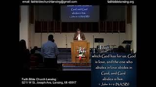 """GOD is Love"" - Sunday Morning Stream - 14 February 2021"