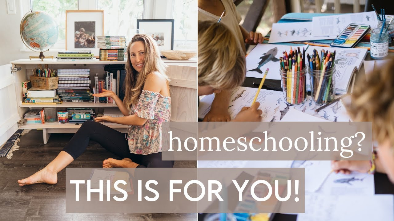 HOMESCHOOL ROUTINE! keep the magic alive in learning | fun homeschooling ideas!!