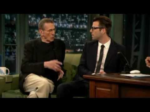 Leonard Nimoy Star Trek '09 Interview Snippets