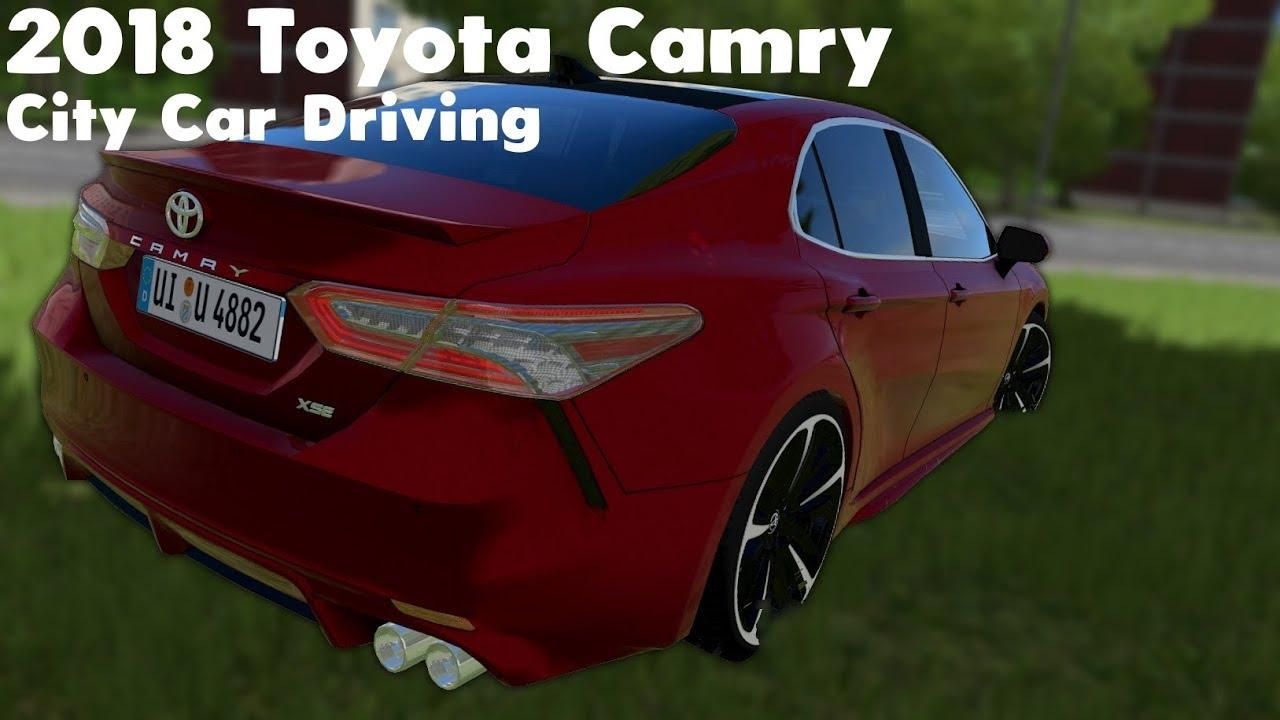 City Car Driving 1 5 Vr 2018 Toyota Camry Link Oculus Rift