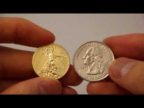 Gold American Eagle 1/4 Oz