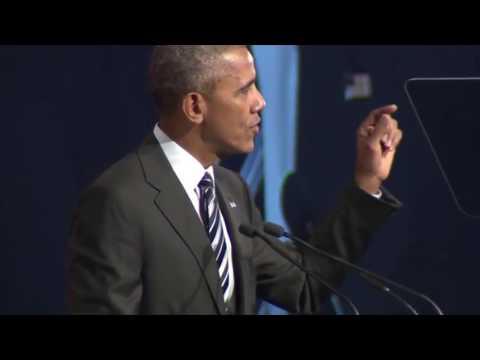 Former President Barack Obama speaks to Montreal Board of Trade - 06 Jun 2017