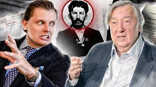 Е. Понасенков демонстрирует документы о преступлениях Сталина и размазывает Проханова на НТВ
