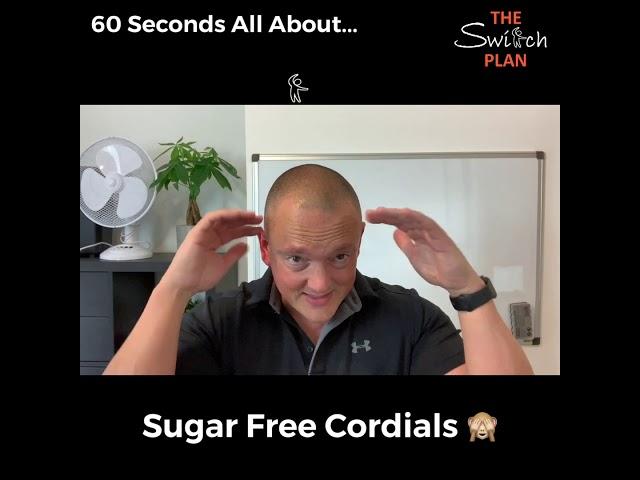 Sugar free Cordials