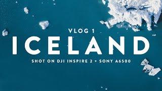 ICELAND VLOG (1/2) |  Shot on Sony a6500 + DJI Inspire 2