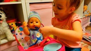 Мальчик Беби Бон 10 аксессуаров для Baby Born за 10 минут челлендж Видео для детей