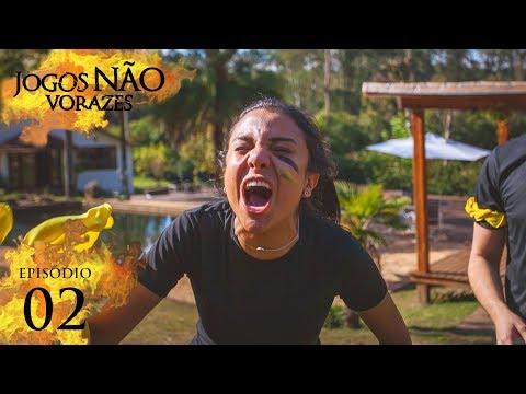 Jogos Não Vorazes - DANÇA DA CADEIRA (AMARRADOS) | Episódio 2